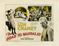 "Movie Posters:Horror, The Road To Mandalay (MGM, 1926). Half Sheet (22"" X 28"").. ..."