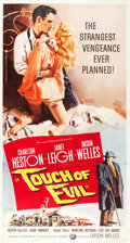 "Movie Posters:Film Noir, Touch of Evil (Universal International, 1958). Three Sheet (41"" X78"").. ..."