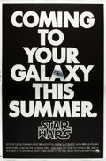 "Movie Posters:Science Fiction, Star Wars (20th Century Fox, 1977). One Sheet (27"" X 41"").. ..."