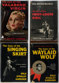 Books:Mystery & Detective Fiction, Erle Stanley Gardner. Four First Editions. William Morrow, 1948-59. Publisher's binding and dust jackets. Mild rubbing to th... (Total: 4 Items)
