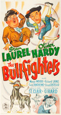 "Movie Posters:Comedy, The Bullfighters (20th Century Fox, 1945). Autographed Three Sheet(41"" X 79"").. ..."