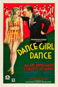 "Movie Posters:Musical, Dance, Girl, Dance (Chesterfield, 1933). One Sheet (27"" X 41"")....."