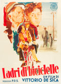"Movie Posters:Foreign, The Bicycle Thief (ENIC, 1948). Italian 2 - Foglio (39"" X 55"")....."