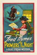 """Movie Posters:Western, Prowlers of the Night (Universal, 1926). One Sheet (27"""" X 41"""").. ..."""