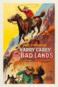 "Movie Posters:Western, The Bad Lands (PDC, 1925). One Sheet (27"" X 41"").. ..."