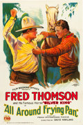 "Movie Posters:Western, All Around Frying Pan (FBO, 1925). One Sheet (27"" X 41"") Style A....."