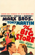 "Movie Posters:Comedy, The Big Store (MGM, 1941). Window Card (14"" X 22"").. ..."