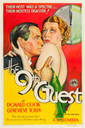"Movie Posters:Mystery, The 9th Guest (Columbia, 1934). One Sheet (27"" X 41"").. ..."