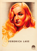 """Movie Posters:Film Noir, Veronica Lake Personality Poster (Paramount, 1944). French Affiche(23.25"""" X 31.75"""").. ..."""