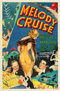 "Movie Posters:Musical, Melody Cruise (RKO, 1933). One Sheet (27"" X 41"").. ..."