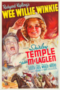 "Movie Posters:Adventure, Wee Willie Winkie (20th Century Fox, 1937). One Sheet (27"" X 41"")Style B.. ..."