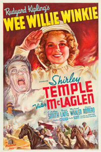 "Wee Willie Winkie (20th Century Fox, 1937). One Sheet (27"" X 41"") Style B"
