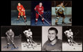 Hockey Collectibles:Photos, Hockey Greats Signed Photograph - Lot of 7. ...