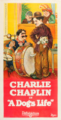 "Movie Posters:Comedy, A Dog's Life (Pathé, R-1920s). Three Sheet (40.5"" X 77.5"").. ..."