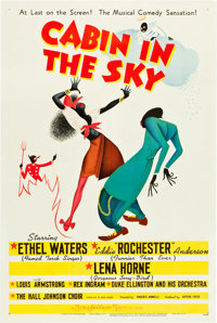 "Cabin in the Sky (MGM, 1943). One Sheet (27"" X 41"") Style C"