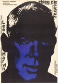 "Movie Posters:Crime, Point Blank (MGM, 1968). Polish One Sheet (23"" X 33"").. ..."