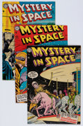 Golden Age (1938-1955):Science Fiction, Mystery in Space #21-23 Group (DC, 1954-55) Condition: AverageFN-.... (Total: 3 Comic Books)