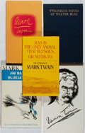 Books:Literature 1900-up, [Mark Twain]. Group of Five Books Relating to Twain. Various, 1930-1970. Twainiana Notes is limited to 1000 numbered cop... (Total: 5 Items)