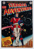 Golden Age (1938-1955):Science Fiction, Strange Adventures #9 (DC, 1951) Condition: VG+....