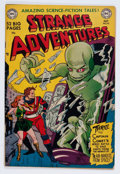 Golden Age (1938-1955):Science Fiction, Strange Adventures #10 (DC, 1951) Condition: FN/VF....
