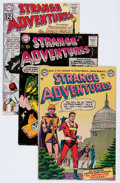 Golden Age (1938-1955):Science Fiction, Strange Adventures Group (DC, 1953-64) Condition: Average FN....(Total: 6 Comic Books)