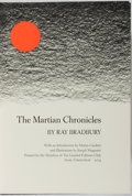 Books:Science Fiction & Fantasy, Ray Bradbury. SIGNED. The Martian Chronicles. Limited Editions Club, 1974. Number 1,886 of 2,000 copies signed...