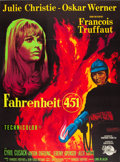 """Movie Posters:Science Fiction, Fahrenheit 451 (Universal, 1967). French Grande (47"""" X 63"""").. ..."""