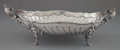 Silver Holloware, Continental:Holloware, A LAZARUS POSEN GERMAN SILVER FOOTED BOWL . Lazarus Posen,Frankfurt, Germany, circa 1890. Marks: (crescent, crown), L.PO...
