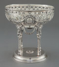 Silver Holloware, Continental:Holloware, A HANAU SILVER BOWL ON STAND. Maker unidentified, Hanau, Germany,circa 1900. Marks: G (under crown), P (under crown...
