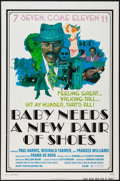 "Movie Posters:Blaxploitation, Baby Needs a New Pair of Shoes (Alert Film Releasing, 1974). One Sheet (27"" X 41""). Blaxploitation.. ..."