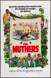 """The Muthers (Dimension, 1976). One Sheet (27"""" X 41""""). Action"""