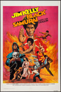 "Movie Posters:Blaxploitation, Black Samurai (Trans-National, 1976). One Sheet (27"" X 41"").Blaxploitation.. ..."