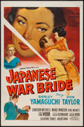 "Movie Posters:Drama, Japanese War Bride (20th Century Fox, 1952). One Sheet (27"" X 41""). Drama.. ..."