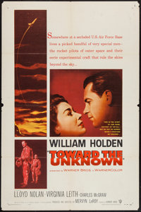 "Toward the Unknown (Warner Brothers, 1956). One Sheet (27"" X 41""). Drama"