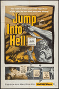 "Movie Posters:War, Jump into Hell (Warner Brothers, 1955). One Sheet (27"" X 41"").War.. ..."