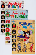 Silver Age (1956-1969):Cartoon Character, Little Audrey TV Funtime File Copies Group (Harvey, 1962-71) Condition: Average NM-.... (Total: 59 Comic Books)