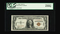 Small Size:World War II Emergency Notes, Fr. 2300* $1 1935A Hawaii Star Silver Certificate. PCGS Superb GemNew 67PPQ.. We sold a PMG 66 for a hammer price of $3,500...