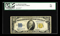 Small Size:World War II Emergency Notes, Fr. 2308 $10 1934 North Africa Silver Certificate. PCGS Fine 12..The North Africa $10 Mule is one of the kings of all mules...