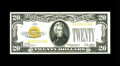 Small Size:Gold Certificates, Fr. 2402 $20 1928 Gold Certificate. Gem Crisp Uncirculated.. Bright paper and a dark overprint are found on this embossed $2...