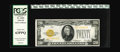 Small Size:Gold Certificates, Fr. 2402 $20 1928 Gold Certificate. PCGS Choice New 63PPQ.. Brightly colored but lacking the centering to merit a higher gra...