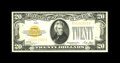 Small Size:Gold Certificates, Fr. 2402 $20 1928 Gold Certificate. Choice About Uncirculated.. A bright and pretty example which is very close to new....