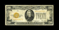 Small Size:Gold Certificates, Fr. 2402* $20 1928 Gold Certificate. Fine.. This Star sports nice color for the grade, while the margins are full and the ed...