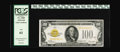 Small Size:Gold Certificates, Fr. 2405 $100 1928 Gold Certificate. PCGS New 61.. A high end piece with good eye appeal which is very hard to locate in thi...