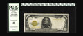 Small Size:Gold Certificates, Fr. 2408 $1000 1928 Gold Certificate. PCGS Extremely Fine 40.. This is a rare item in any grade and to have six examples in ...