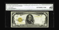 Small Size:Gold Certificates, Fr. 2408 $1000 1928 Gold Certificate. CGA Extremely Fine 40.. A rare note in all grades, with examples having literally disa...