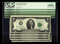 Error Notes:Mismatched Prefix Letters, Fr. 1935-B $2 1976 Federal Reserve Notes. Five ConsecutiveExamples. PCGS Choice New 63PPQ and 63.. This consecutivegroupin... (Total: 5 notes)