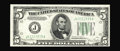 Error Notes:Double Denominations, Fr. 1960-J $5/10 1934D Federal Reserve Note. Double Denomination. Very Choice Crisp Uncirculated.. A beautiful example of th...