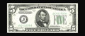 Error Notes:Double Denominations, Fr. 1960-J $5/10 1934D Federal Reserve Note. Double Denomination. Choice About Uncirculated. This is a bright and very well ...