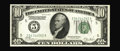 Error Notes:Double Denominations, Fr. 2001-E $10/5 1928A Federal Reserve Note. Double Denomination. Gem Crisp Uncirculated.. Double denominations carry the mo...