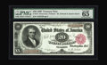 Large Size:Treasury Notes, Fr. 374 $20 1890 Treasury Note PMG Gem Uncirculated 65 EPQ. A run of about twenty uncirculated examples are known of this nu...